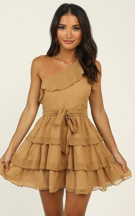 Darling I Am A Daydream Dress in Camel