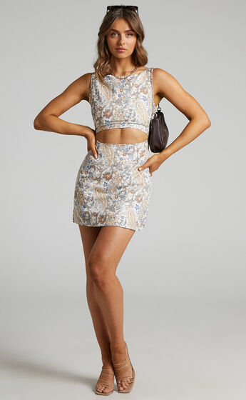 Charlie Holiday - Ivy Dress in Paisley