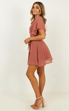 One Sweet Day Dress In Dusty Rose