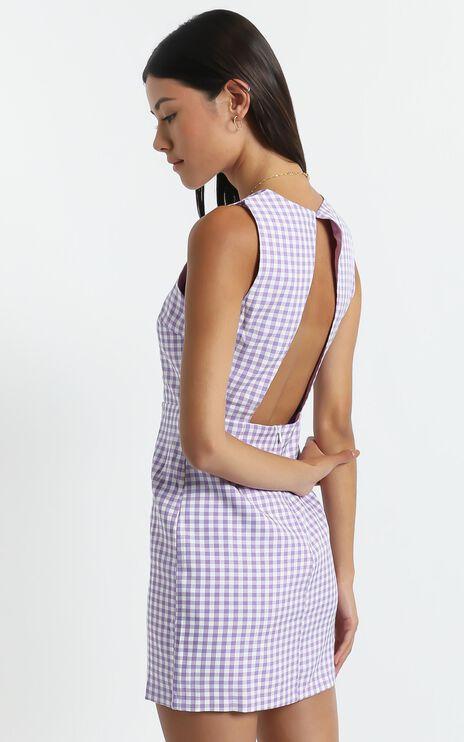 Miray Dress in Purple