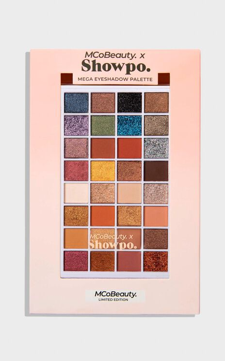 MCoBeauty X Showpo - Mega Eyeshadow Palette