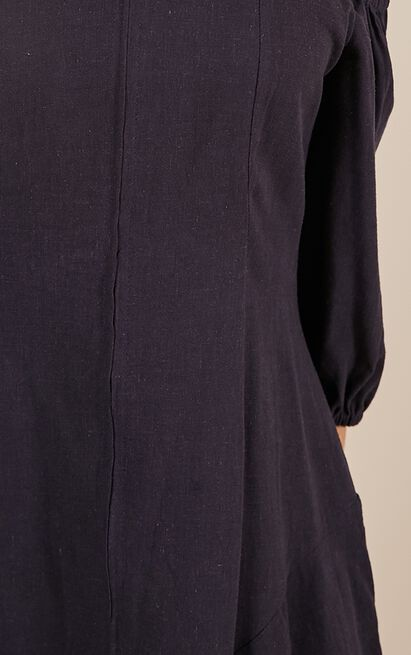 You Got The Touch dress in navy - 12 (L), Navy, hi-res image number null