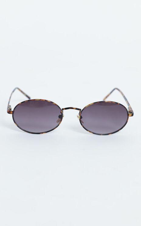 Reality Eyewear - Helsinki Sunglasses in Gold/Turtle