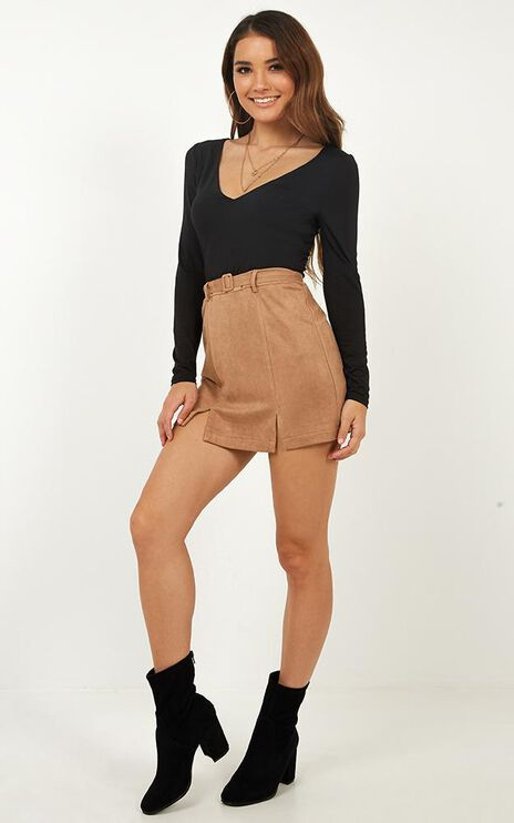 Extinct Skirt In Beige