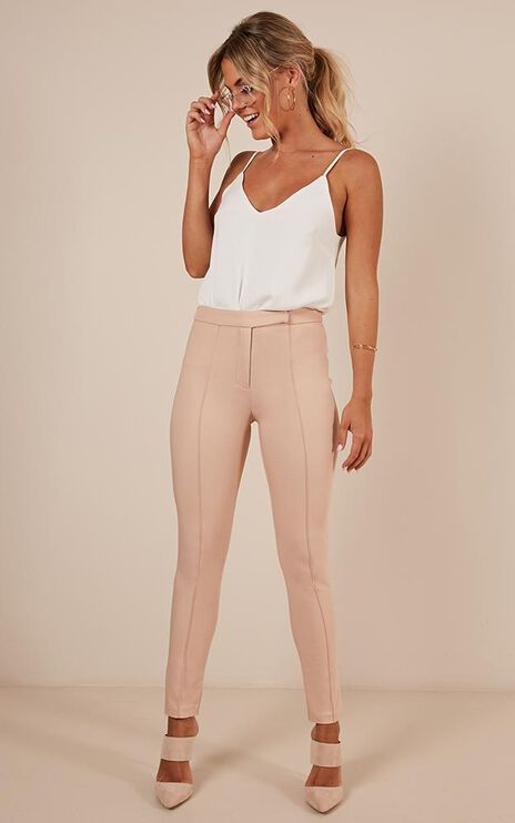 Hierarchy Pants In Mocha