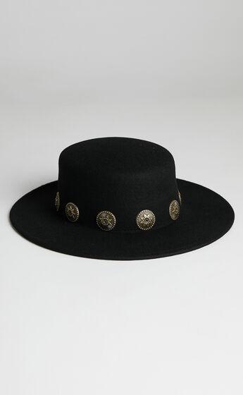 Ace Of Something - Maverick Hat in Black