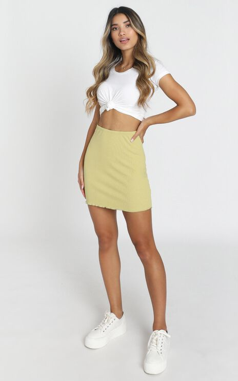 Lili Skirt in green