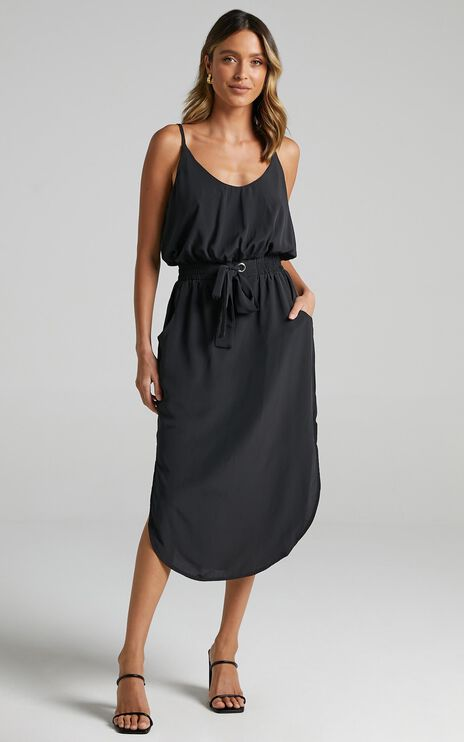Get Things Done Dress In Black