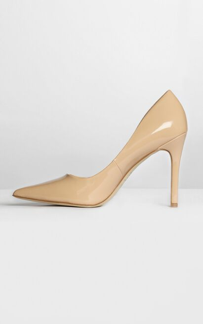 Verali - Harold Heels in nude patent - 5, Brown, hi-res image number null