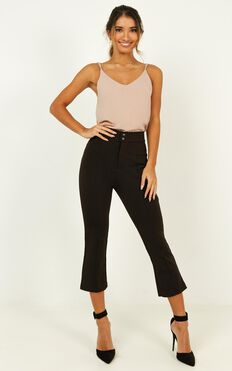 Always On The Move Pants In Black