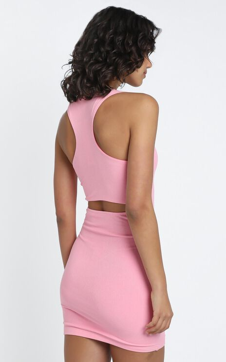 Madison Dress in Pink