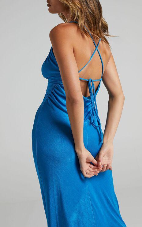 Yassie Dress in Blue