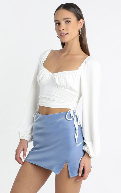 Hubert Skirt in Blue