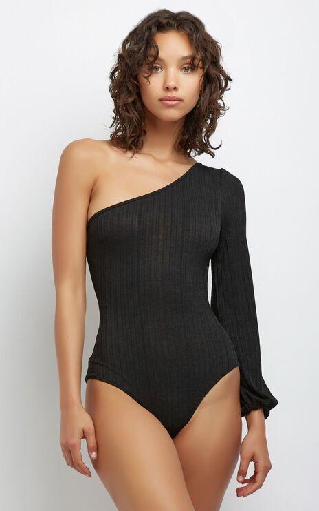 Aurora Bodysuit in Black