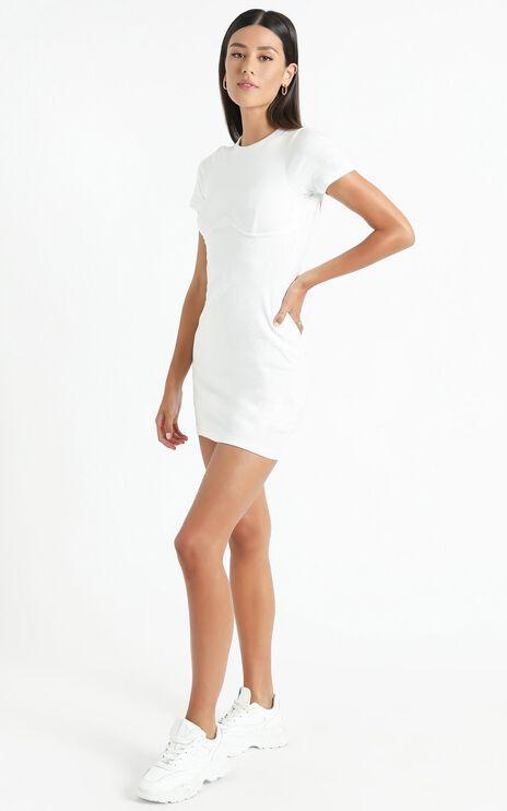 The Allison Dress in White