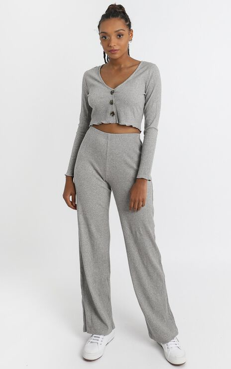 Bellamy Two Piece Set in Grey