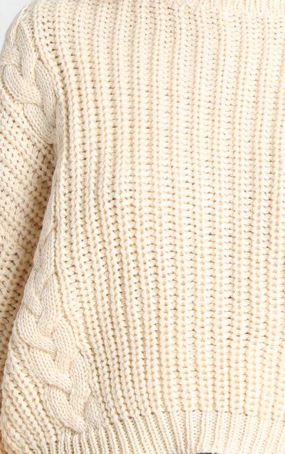 Game Of Love Knit Jumper in lemon - 12 (L), Cream, hi-res image number null
