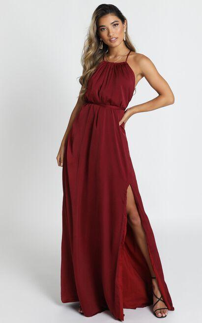 Graceful Dancer Dress in wine - 14 (XL), Wine, hi-res image number null