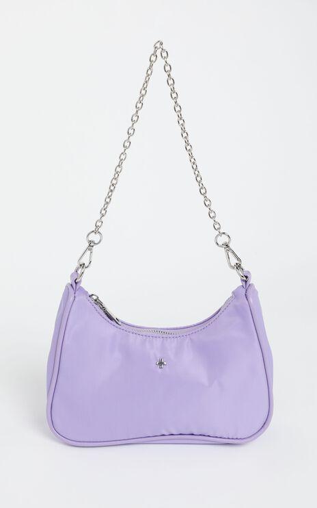 Peta and Jain - Paloma Bag in Lilac Nylon
