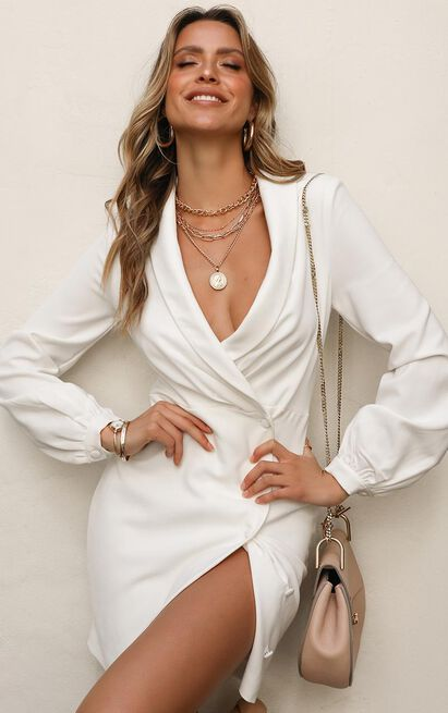 You Say It Dress in white - 20 (XXXXL), White, hi-res image number null