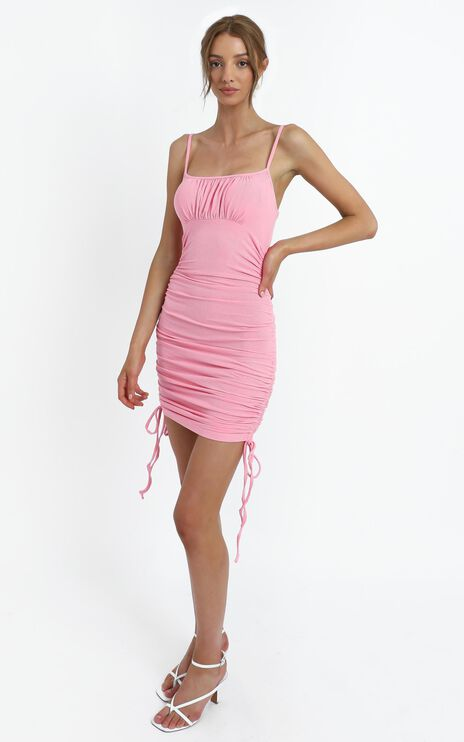 Langley Dress in Pink