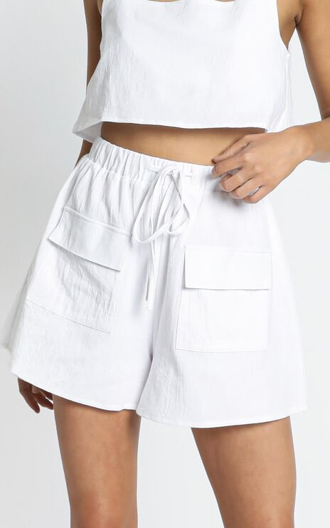 Starlight Shorts in White