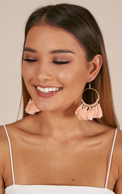 One Way Or Another earrings in blush, , hi-res image number null