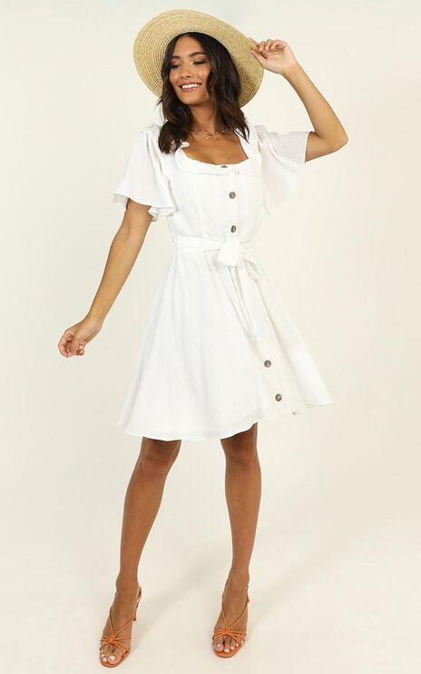 Katia Dress In White
