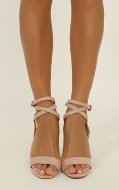 Verali - Callista Heels In Musk Micro