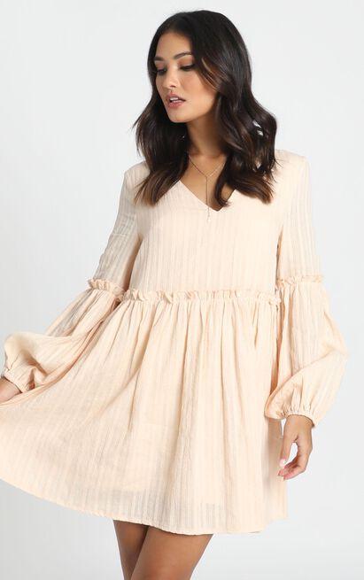 Let It Show Dress in beige - 20 (XXXXL), Beige, hi-res image number null