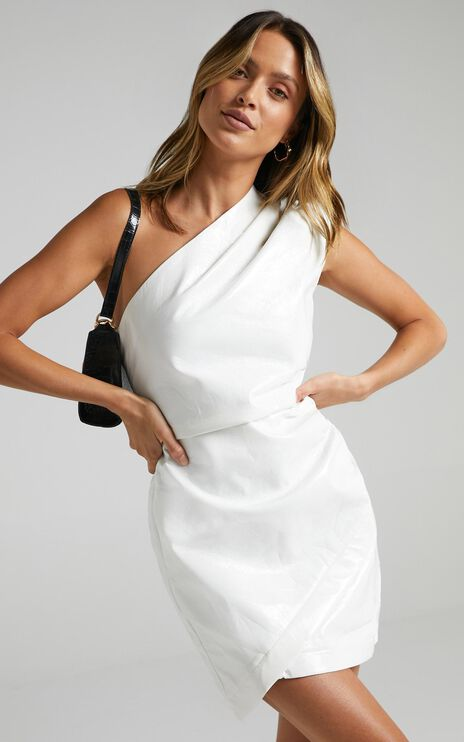 Lioness - Life Of The Party Mini Dress in White