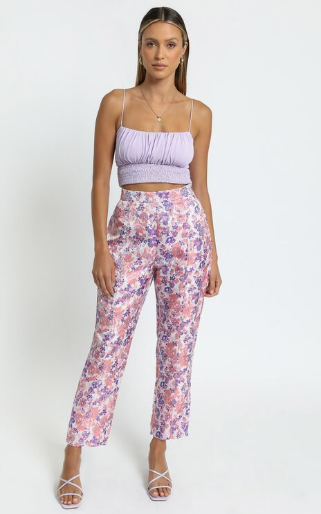 Rainey Pants in Multi Floral