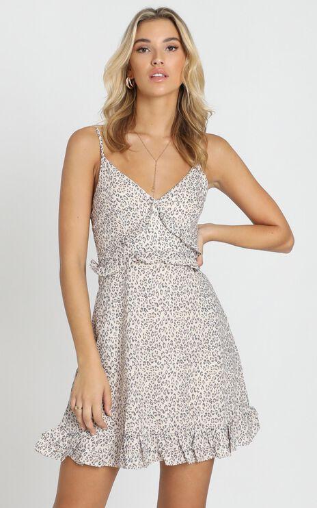 Chiara Dress in Leopard Print