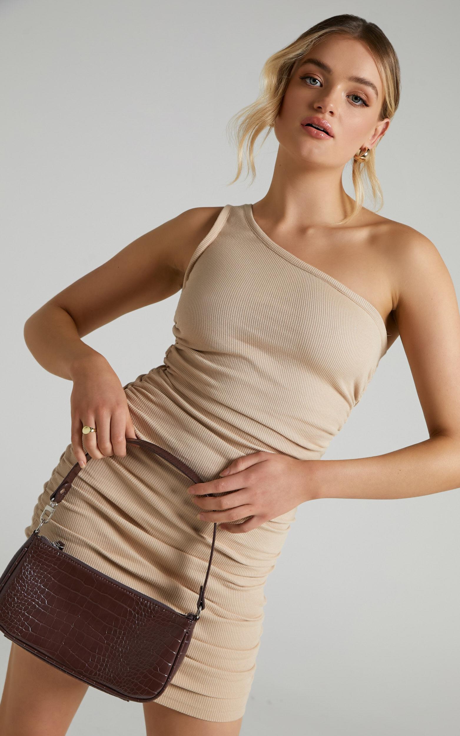She.Is.Us - Tamika Dress in Sand - L, BRN1, super-hi-res image number null