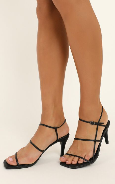 Therapy - Flossy Heels In Black