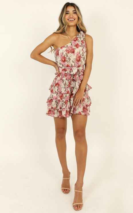 Love You More Dress In Rose Floral