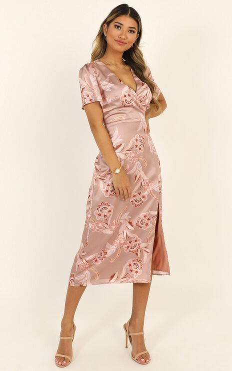 Certified Professional Dress in Rose Paisley
