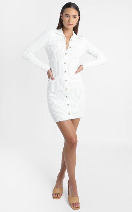 Albury Dress in White