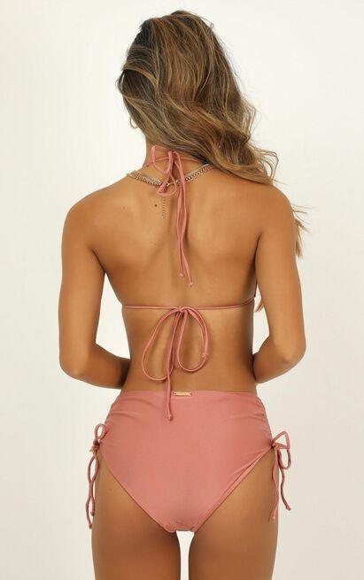 Annabelle Bikini Bottom in rose metallic - 20 (XXXXL), Rose Gold, hi-res image number null