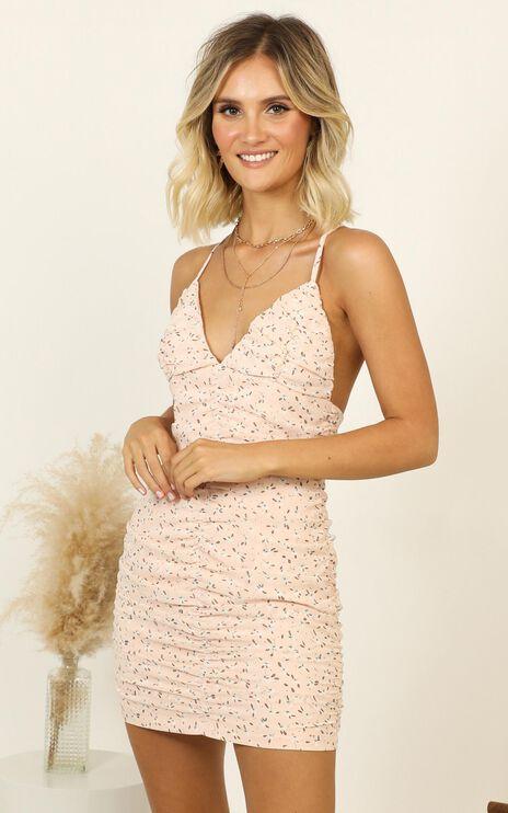 Kind Soul Dress In Pink Floral