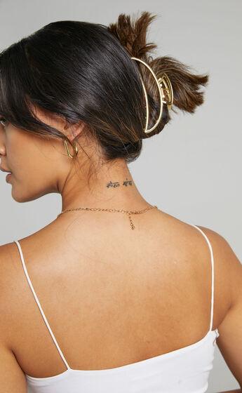 Romea Hair Clip in Gold