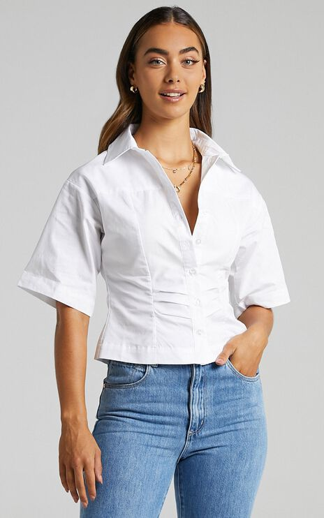 Shireen Shirt in White