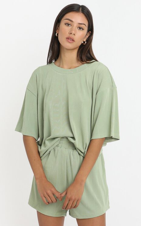 Jessica Top in Olive