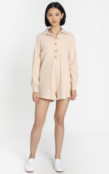 Michaela Playsuit in Cream