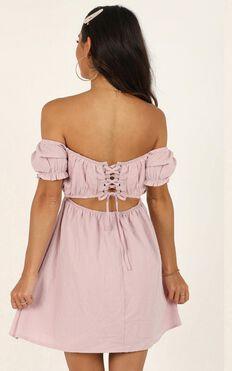 Finding Friends Dress In Pink