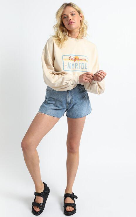 Charlie Holiday - Joyride Sweatshirt in Birch