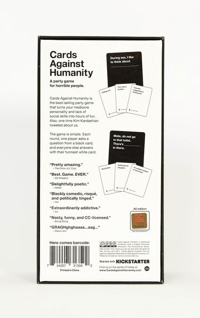 Cards Against Humanity AU Edition V2.0 , , hi-res image number null