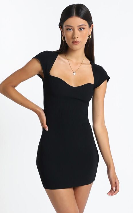 Ellenor Dress in Black
