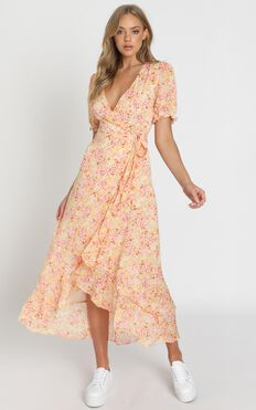Norwich Dress In Pink