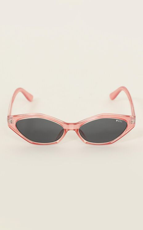 Roc - Let's Bumble Sunglasses In Metallic Pink